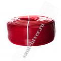 Труба  сшитый полиэтилен  STOUT 16х2,0 PEX-a с кислородным слоем, красная