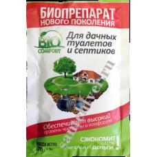 Ср-во БИОКОМФОРТ  для дачных туалетов и септиков 70гр.
