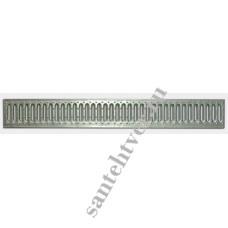 Решетка водоприемная РВ 100*13,6 DN100 стальная штампованная