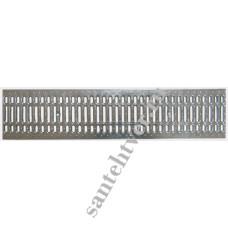 Решетка водоприемная РВ 100*23,6 DN200 стальная штампованная
