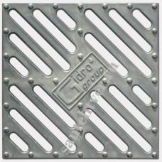 Решетка водоприемная РВ 28*28 алюминиевая крашеная