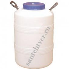 Бочка-бидон для воды п/э 50 Белый