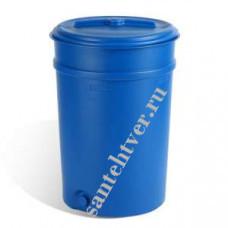 Бочка для воды п/э 205 (коническая с крышкой)