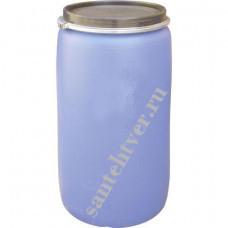 Бочка для воды п/э 227 (с крышкой на обруч)