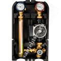 Насосная группа STOUT с термостатическим смесит. клапаном  1* с насосом Grundfos UPSO 25-65