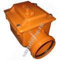 Клапан обратный ПВХ 110