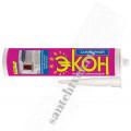 Герметик  ЭКОН силикон для ван/кух (бел.)  280 мл