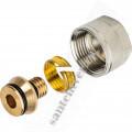 Фитинг  STOUT 16х2,0х3/4 м/пласт PEX-AL-PEX