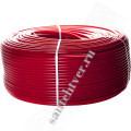 Труба  сшитый полиэтилен  STOUT 16х2,0 PEX-a с кислородным слоем, красная /100м