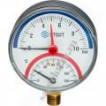 Термоманометр  STOUT радиальный DN80 1/2 6бар (вниз)