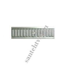 Решетка водоприемная РВ 100*13,6 DN100 стальная ячеистая оцинк