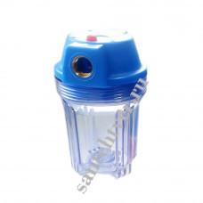 Фильтр д/воды  ITA -05- 1/2 ( 5*, прозрачная колба, без кассеты)