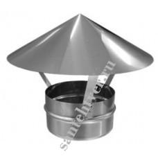 Зонт-заглушка нерж. 140х0,5мм